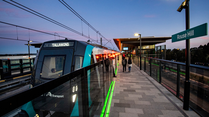 Alstom, Northwest Rapid Transit, Sydney Metro, Automated Metropolis trains, Urbalis 400, Sri City, Ling Fang, Metro Trains Sydney