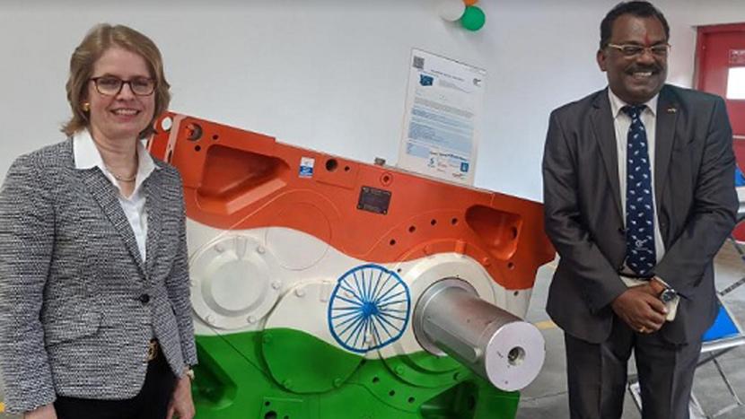NORD DRIVESYSTEMS, Pune, Vikram Kumar, Jutta Humbert, NORD India