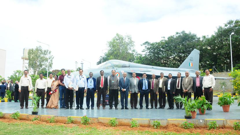 HAL Management Academy, Rajiv Gandhi National Aviation University, RGNAU, R. Madhavan, LCA Tejas, V. M. Chamola
