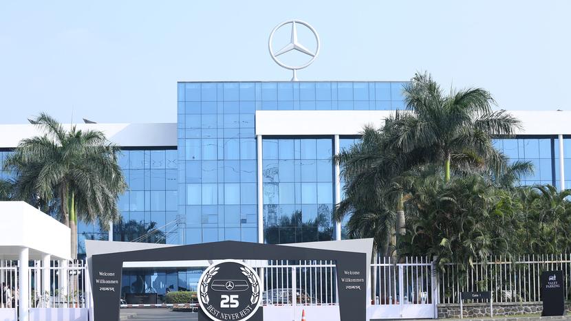 Mercedes Benz  Cars, Mercedes Benz  India, Jörg Burzer, Pune, Made in India, Digitisation in vehicle manufacturing, Piyush Arora