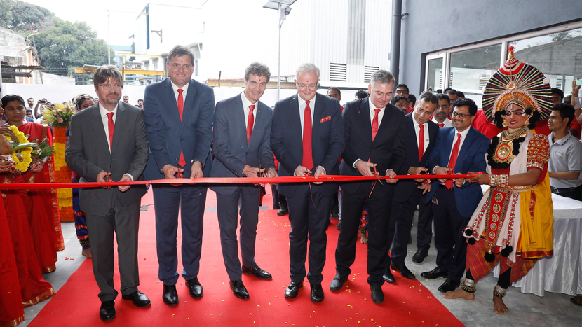 The CERATIZIT Group, Bengaluru, Jean Claude Kugener, Thierry Wolter, Andreas Lackner, Andreas Schwenninger, Gerhard Bailom, AK Sareen, Anil Kumar