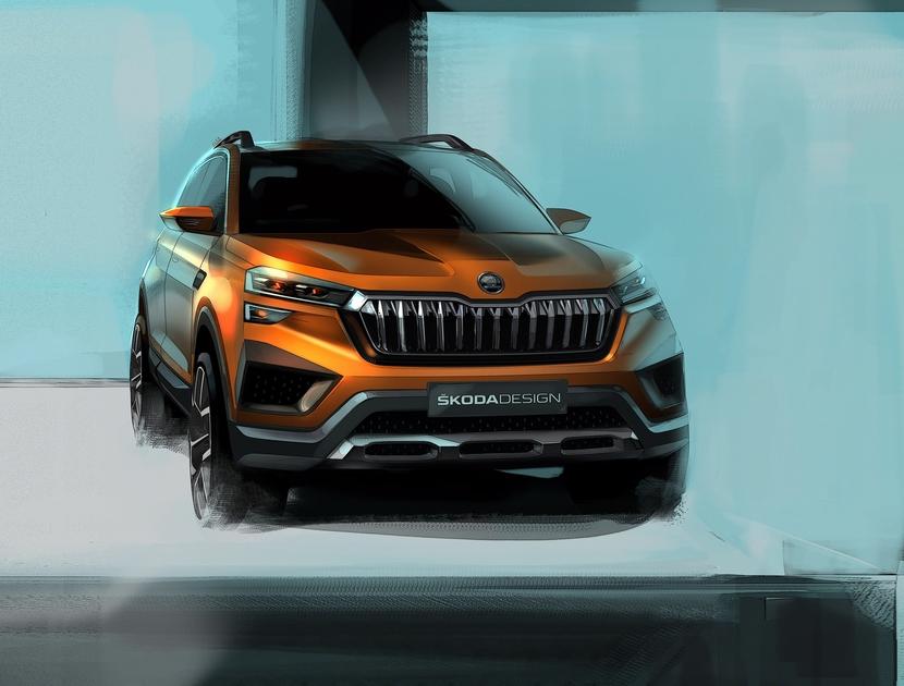 ŠKODA VISION IN, Auto Expo 2020, India 2.0, ŠKODA AUTO, Volkswagen Group