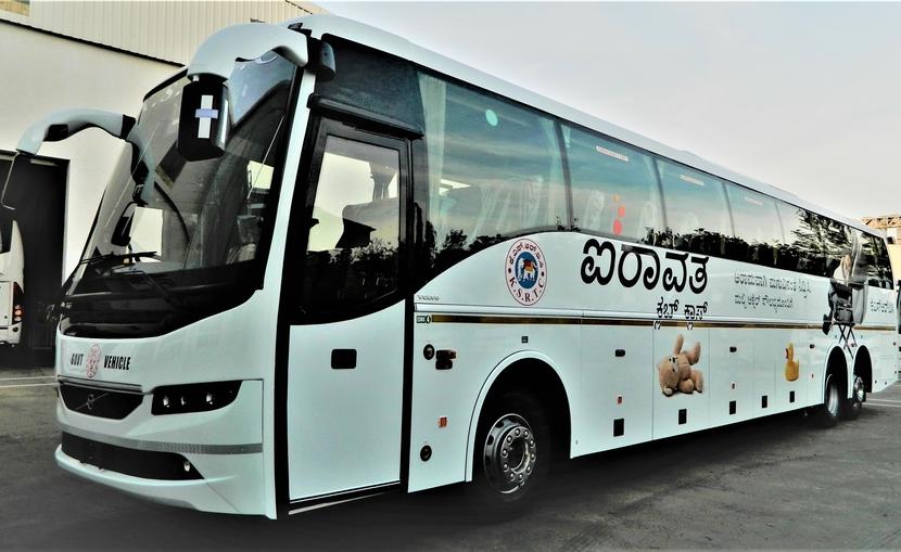 Volvo Buses, Suresh Chettiar, Shivayogi C Kalasad, Karnataka State Road Transport Corporation, Karnataka State Road