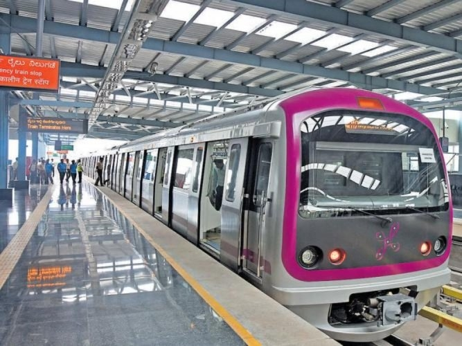 Otis Elevator, Bengaluru Metro project, Bangalore Metro Rail Corporation, United Technologies Corp, Namma Metro, Sebi Joseph, Make in India, State-of-the-art Bengaluru facility, Indian Green Building Council, Sustainability, Electronics City