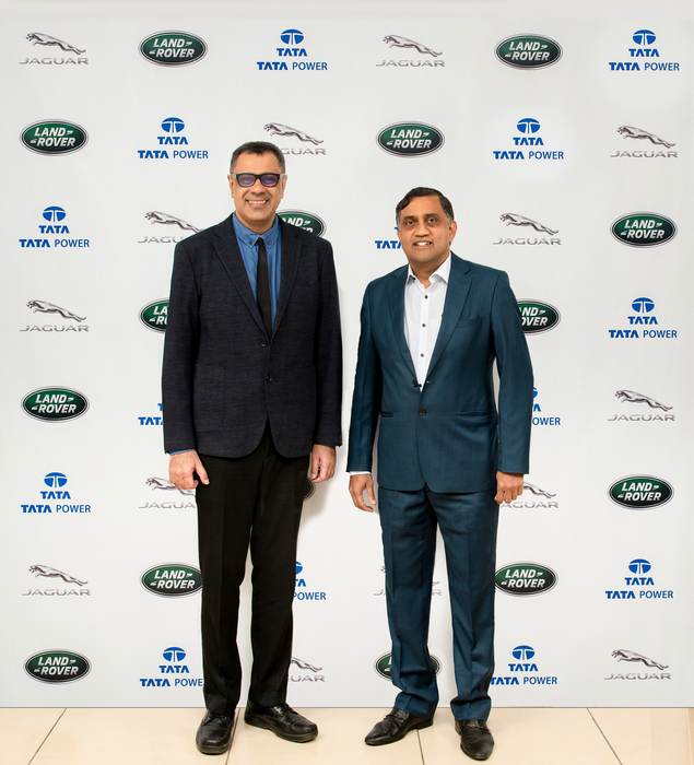 Jaguar Land Rover India, Tata Power, EV charging solutions, JLR, AC and DC chargers, Rohit Suri, Ramesh Subramanyam, Electric vehicle, Jaguar I-Pace, EV charging space