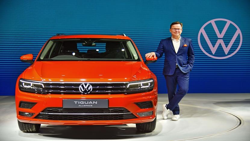 Volkswagen India, Tiguan Allspace, Steffen Knapp
