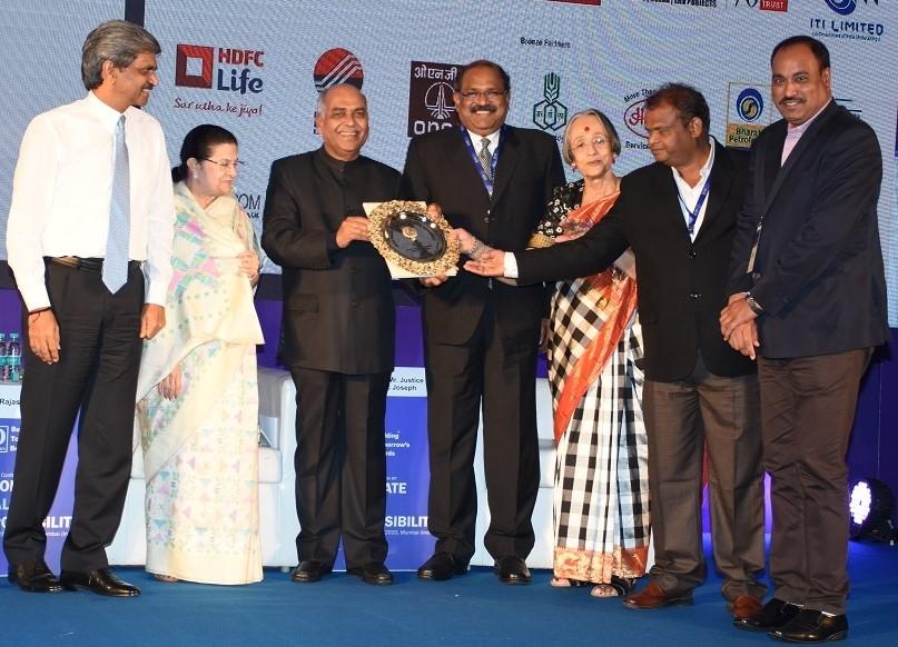Grasim Industries, Aditya Birla Group, Golden Peacock award, Rajashree Birla, Aditya Birla Centre for Community Initiatives and Rural Development, Kumar Mangalam, Make in India, Dilip Gaur, Sustainable Livelihood, Infrastructure development, Women Empowerment
