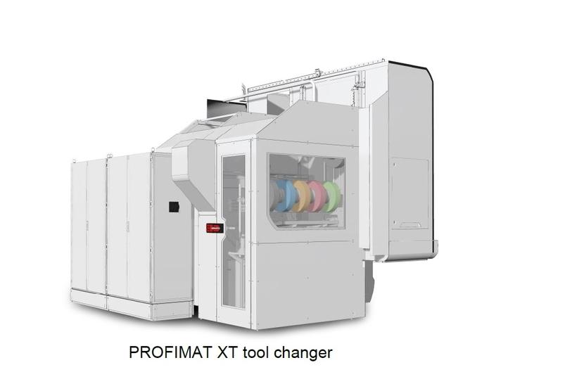 BLOHM, PROFIMAT XT, Tool changer, Grinding technologies, Setup times, Efficient machining