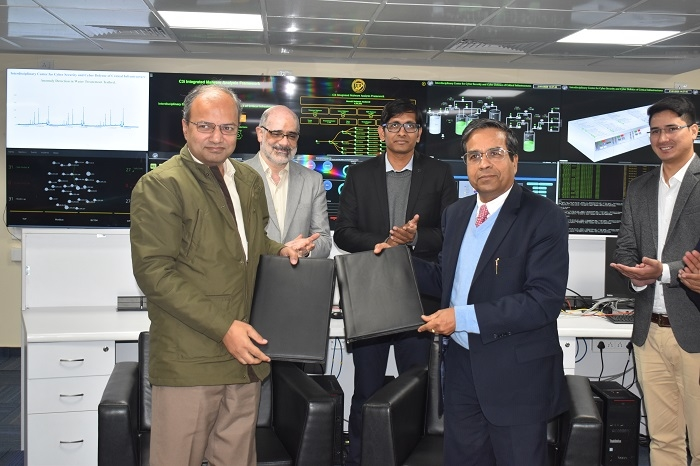 L&T Technology Services, IIT-Kanpur, Dr. Keshab Panda, Professor Manindra Agarwal, Prof. Sandeep K. Shukla, Cybersecurity research center, Industrial cybersecurity, C3i Center, Honeypots, Malware analysis, Intrusion detection research