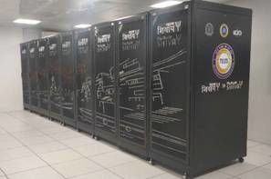 India's National Supercomputing Mission, Ministry of Electronics and IT, Department of Science and Technology, Param Shivay, IIT-Mumbai, IIT-Chennai, Computational Fluid Dynamics, Bioinformatics, Material science, Supercomputing facility