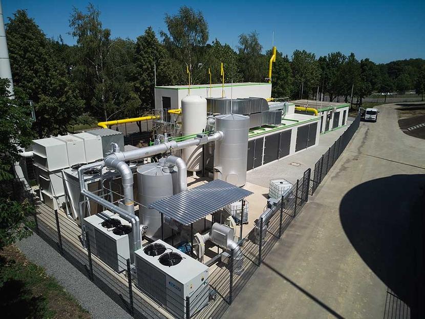 ETW SmartCycle PSA technology, Biomethane plants, ETW Energietechnik, Dr. Oliver Jende, SmartCycle plant