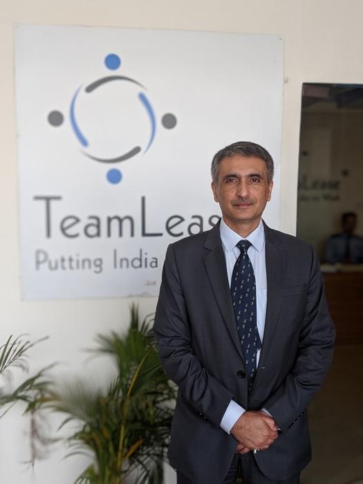 Sumit Kumar, TeamLease Services, NETAP, COVID-19, Skills, Atmanirbhar