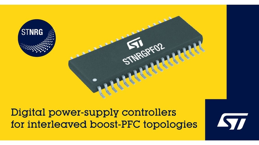 STNRGPF02, EDesignSuite, Bill of Materials, STMicroelectronics, Digital power-supply controllers