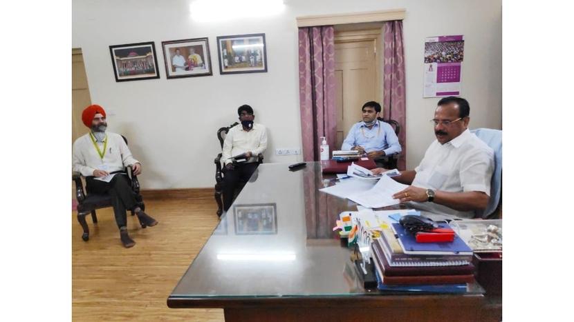 NIPER, IISER, AIIMS, Finance Minister of Punjab Manpreet Singh Badal, D.V. Sadananda Gowda, Medical devices parks