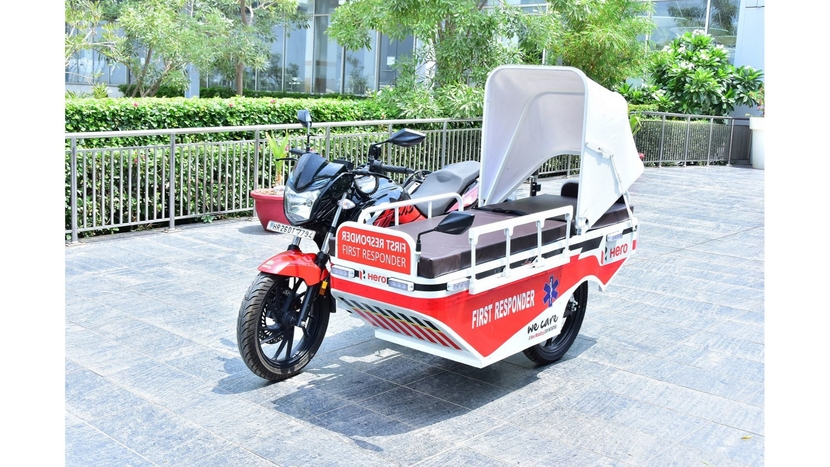 Hero MotoCorp, First Responders, New Model Centre, Hero's Centre of Innovation and Technology, Manjeet Dharampal Choudhary, Member of the State Legislative Assembly of Rajasthan, Xtreme 200R motorcycles