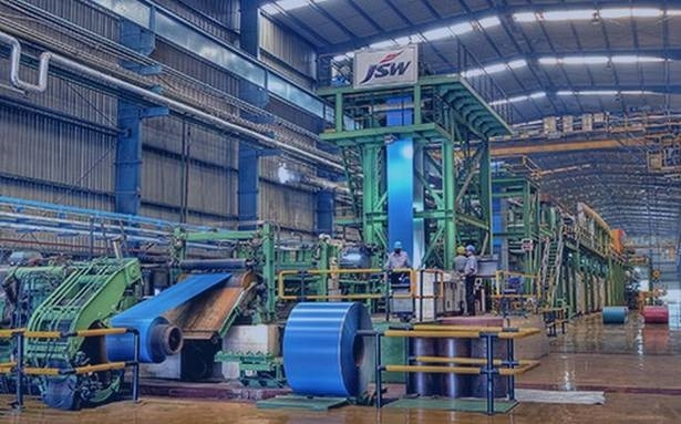 JSW Steel, Growth in crude steel production, Steelmaker, Flat-rolled products, Long rolled products, Energy, Infrastructure, Cement
