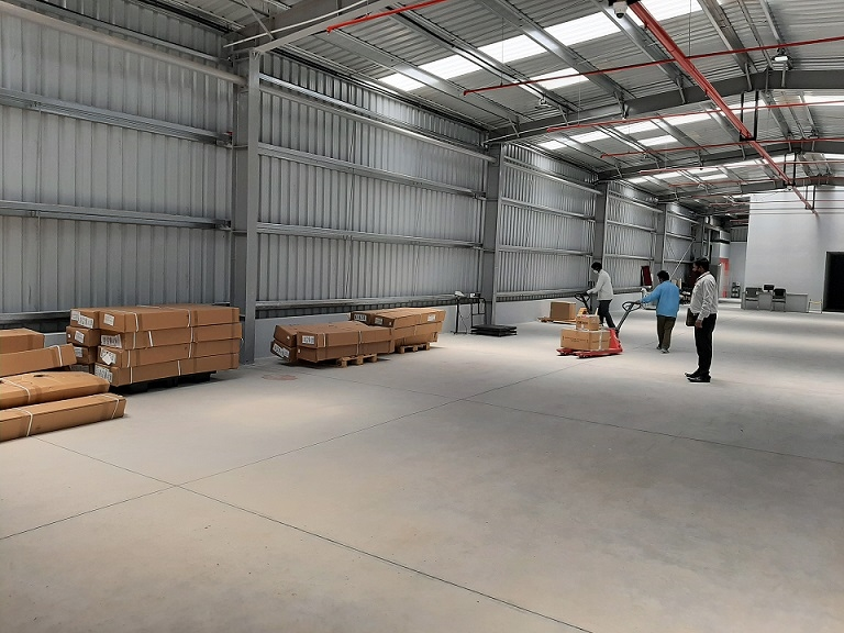 Bangalore airport, Kempegowda International airport, On-airport public bonded warehouse, Tushar Jani, Satyaki Raghunath, Cargo Service Centre