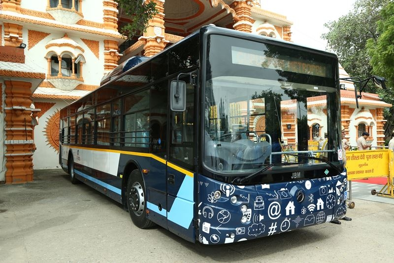 JBM Auto, 116 BS-VI compliant AC low floor CNG buses, Delhi Integrated Multi-Modal Transit System, New Delhi, CITYLIFE